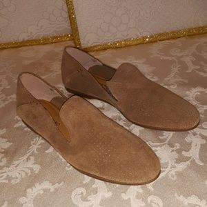 Lucky Brand Suede Leather Flats Sz 10M